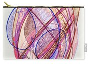 Abstract Drawing Twenty-two Carry-all Pouch