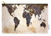 Abstract Earth Map Carry-all Pouch