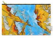 Abstract Elements  Carry-all Pouch