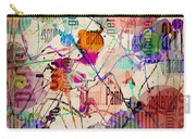 Abstract Expressionism Carry-all Pouch