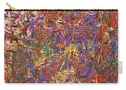 Abstract - Fabric Paint - String Theory Carry-all Pouch by Mike Savad