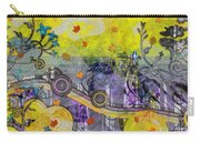 Abstract - Falling Leaves Carry-all Pouch