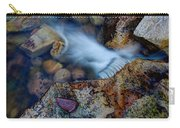 Abstract Falls Carry-all Pouch by Chad Dutson