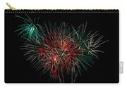Abstract Fireworks Carry-all Pouch by Robert Bales
