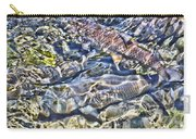Abstract Fish 3 Carry-all Pouch