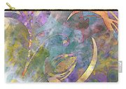 Abstract Floral Designe - Panel 1 Carry-all Pouch