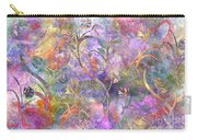 Abstract Floral Designe  Carry-all Pouch
