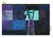 Abstract Floral - H15bt3 Carry-all Pouch