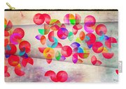 Abstract Floral  Carry-all Pouch by Mark Ashkenazi