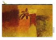 Abstract Floral - P01bt01c11c Carry-all Pouch