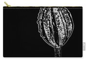 Abstract Flower Bud Carry-all Pouch