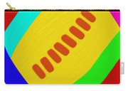 Abstract Football Carry-all Pouch