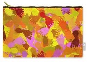 Abstract Footprints Carry-all Pouch