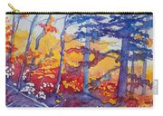 Abstract Forest No. 1 Carry-all Pouch