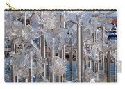 Abstract Glass Art Sculpture Carry-all Pouch