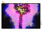 Abstract Glowball Tree Carry-all Pouch by Pixel Chimp