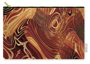 Abstract Gold 3 Carry-all Pouch