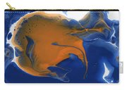 Abstract Gold Fish Carry-all Pouch