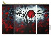Abstract Gothic Art Original Landscape Painting Imagine By Madart Carry-all Pouch