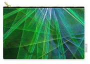 Abstract Green Lights Carry-all Pouch