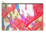 Abstract Hearts 16 Carry-all Pouch