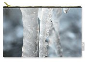 Abstract Icicles I Carry-all Pouch