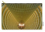 Abstract In Gold Carry-all Pouch by Alan Socolik