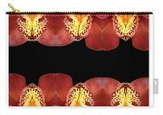 Nature In Abstract Orchid Square Carry-all Pouch