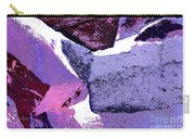 Abstract In Purple Carry-all Pouch