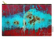 Abstract In Red 6 Carry-all Pouch