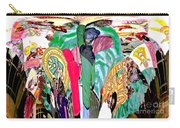 Abstract Inca Warriors Past Present And Future Carry-all Pouch