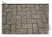 Abstract Interlocking Pavement Carry-all Pouch