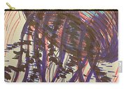 Abstract Jellyfish In Ink Carry-all Pouch