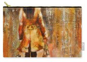 Abstract Lady  5 Carry-all Pouch