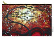 Abstract Landscape Art Original Painting Where Dreams Are Born By Madart Carry-all Pouch