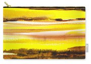 Abstract Landscape Found Reflections Carry-all Pouch