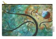 Abstract Landscape Painting Digital Texture Art By Megan Duncanson Carry-all Pouch by Megan Duncanson