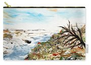 Abstract Landscape Untitled Carry-all Pouch