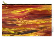 Abstract Landscape Yellow Hills Carry-all Pouch