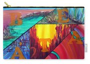 Abstract Landscapes Carry-all Pouch