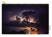 Abstract Lightning 14 Carry-all Pouch