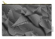 Abstract - Lines - Path To Destruction Carry-all Pouch