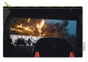 Abstract Mixmedia Patchwork Pleasure Drive End Of The Tunnel Bridge Paris France Carry-all Pouch