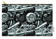 Abstract Motor Bike - Doc Braham - All Rights Reserved Carry-all Pouch