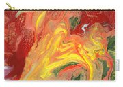 Abstract - Nail Polish - In A State Of Flux Carry-all Pouch by Mike Savad