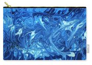 Abstract - Nail Polish - Ocean Deep Carry-all Pouch by Mike Savad