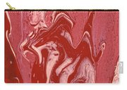 Abstract - Nail Polish - Tongue Carry-all Pouch