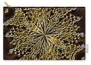 Abstract Neon Gold Carry-all Pouch