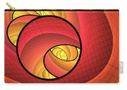 Abstract Network Carry-all Pouch