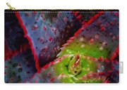 Abstract Of Bromeliad Carry-all Pouch